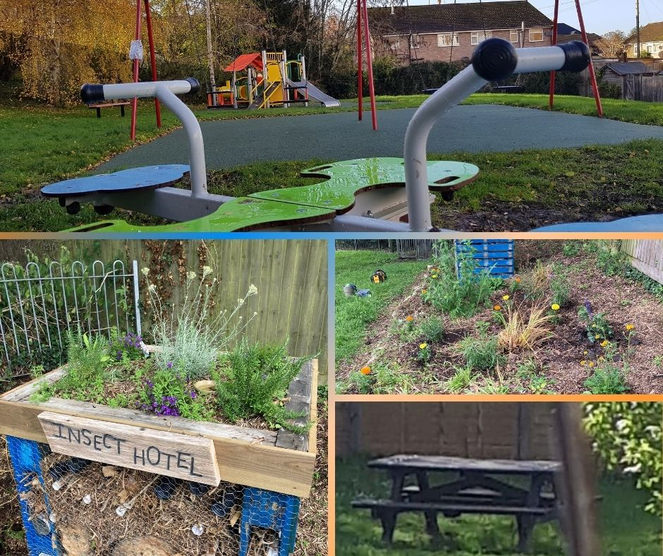 Montage of images from Farm Close Road Reccreation Ground