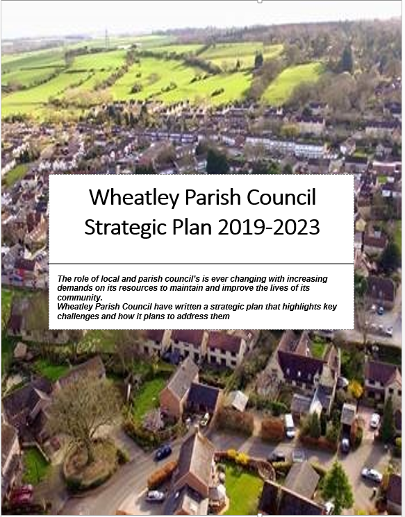 WPC Strategic plan front page